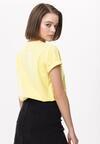 Żółty T-shirt Delusive