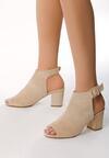 Beżowe Sandały Bamboozle