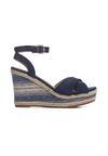Niebieskie Sandały Temperament