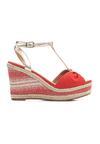 Czerwone Sandały Warmer
