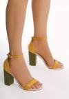 Żółte Sandały Turns