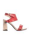 Czerwone Sandały Freezingly