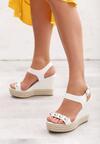 Białe Sandały Encolden