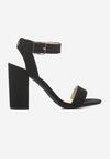 Czarne Sandały Ultracool