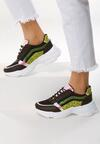 Czarne Sneakersy Swiftness