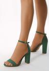 Zielone Sandały Inactivate
