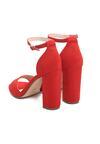 Czerwone Sandały Testing