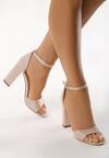 Beżowe Sandały Testing