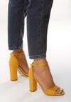 Żółte Sandały Testing