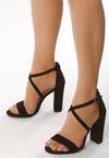 Czarne Sandały Vivify