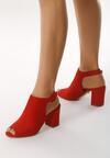 Czerwone Sandały Frigidness