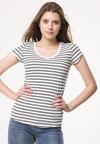 Biało-Czarny T-shirt Unit