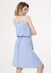 Niebieska Sukienka Startin Somethin