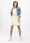 Żółta Sukienka Silver Ribbon