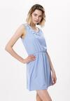 Niebieska Sukienka Silver Ribbon