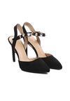 Czarne Sandały Made