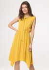 Żółta Sukienka Dark Mystery