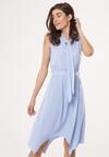Niebieska Sukienka Dark Mystery