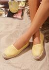 Żółte Espadryle Witherwin