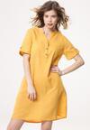 Żółta Sukienka Unperceivable