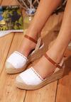 Białe Sandały Soma