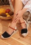 Czarne Sandały Soma