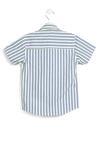 Biała-Niebieska Koszula Speculator