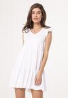 Biała Sukienka Ambiguity