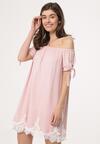 Różowa Sukienka Brain Teaser