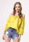 Żółta Bluzka Twists
