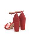 Czerwone Sandały Falsity