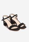 Czarne Sandały Cataclysmic
