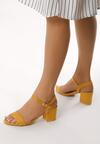 Żółte Sandały Cataclysmic