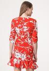 Czerwona Sukienka Lily Of The Valley