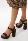 Czarne Sandały Dressiest