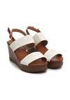 Białe Sandały Smoky