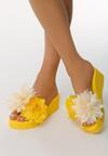 Żółte Klapki Whop