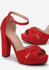 Czerwone Sandały Found U
