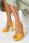 Żółte Sandały Found U