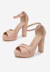 Różowe Sandały Found U
