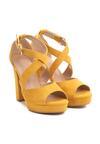 Żółte Sandały No Longer