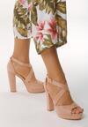 Różowe Sandały No Longer