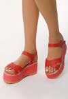Czerwone Sandały Tall Tale