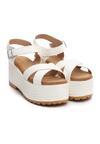 Białe Sandały Tall Tale