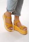 Żółte Sandały Tall Tale