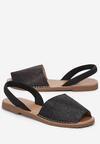 Czarne Sandały Smallish