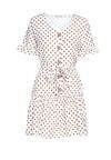 Biała Sukienka One Month