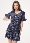Granatowa Sukienka One Month