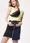 Niebiesko-Czarna Spódnica Aweather