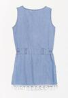 Niebieska Sukienka Gusty